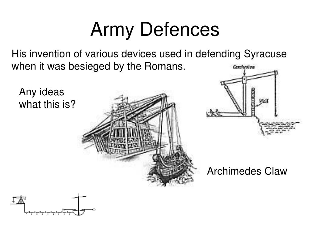 Army Defences