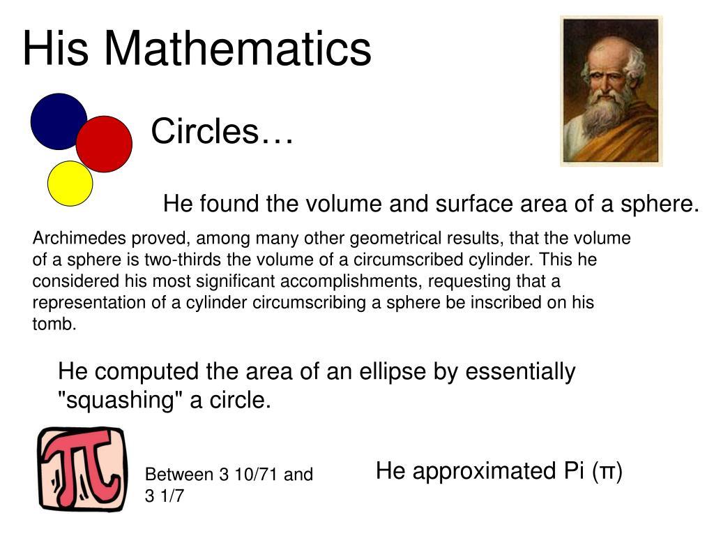 Circles…