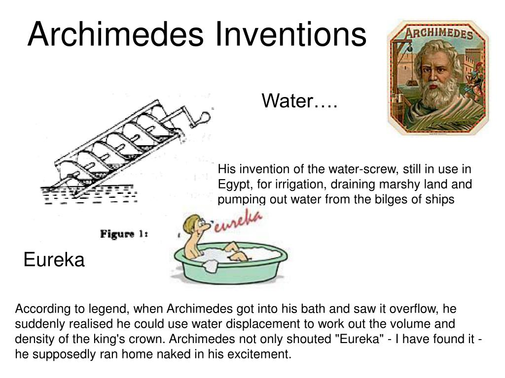 Archimedes Inventions