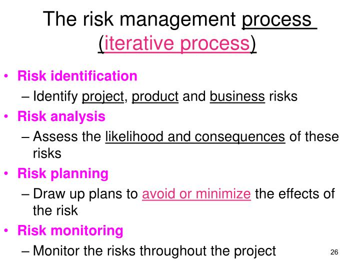 The risk management