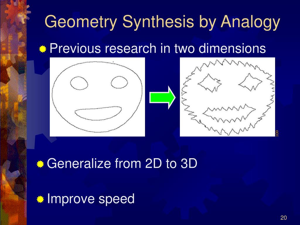 Geometry Synthesis by Analogy
