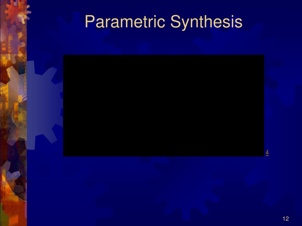Parametric Synthesis