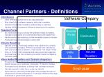 channel partners definitions
