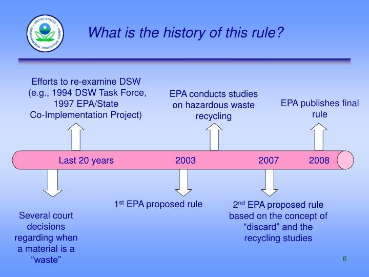 EPA conducts studies on hazardous waste recycling