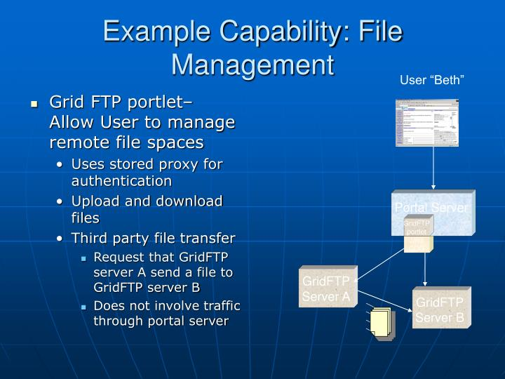 Example Capability: File Management