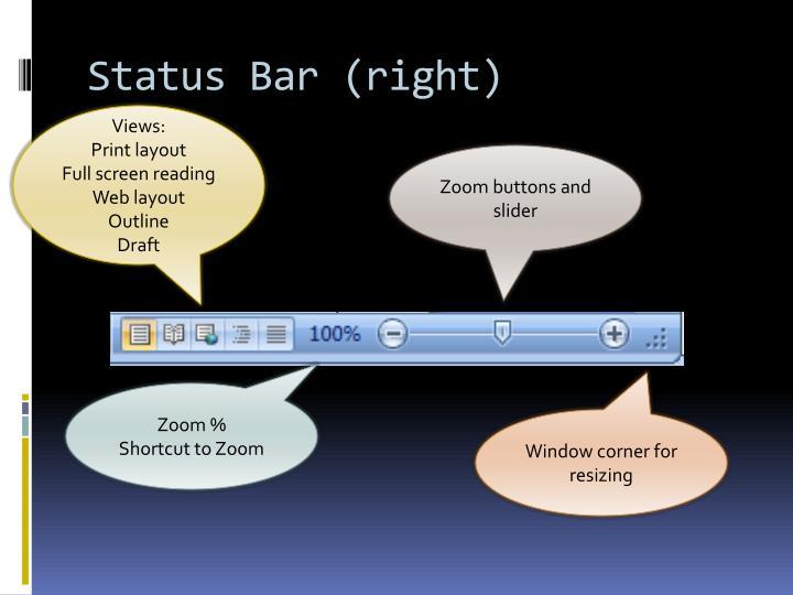 Status Bar (right)