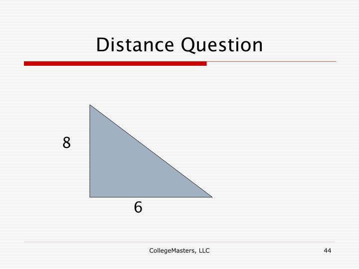 Distance Question