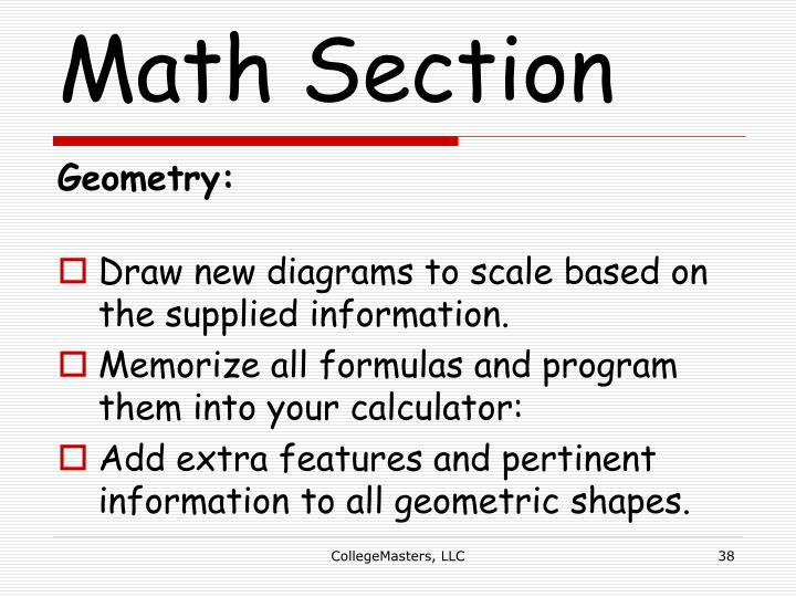 Math Section