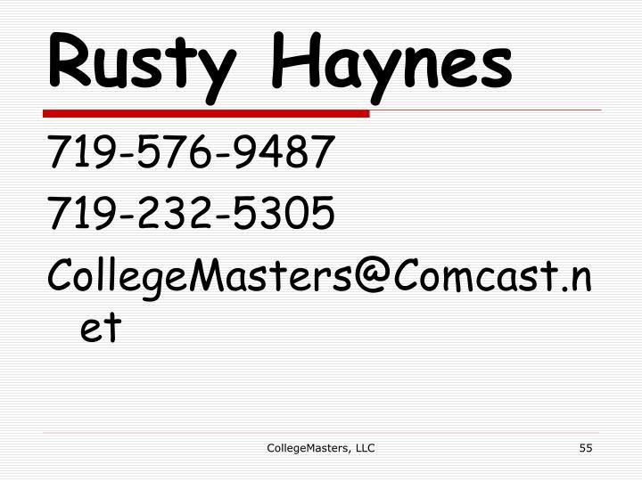 Rusty Haynes