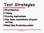 test strategies1