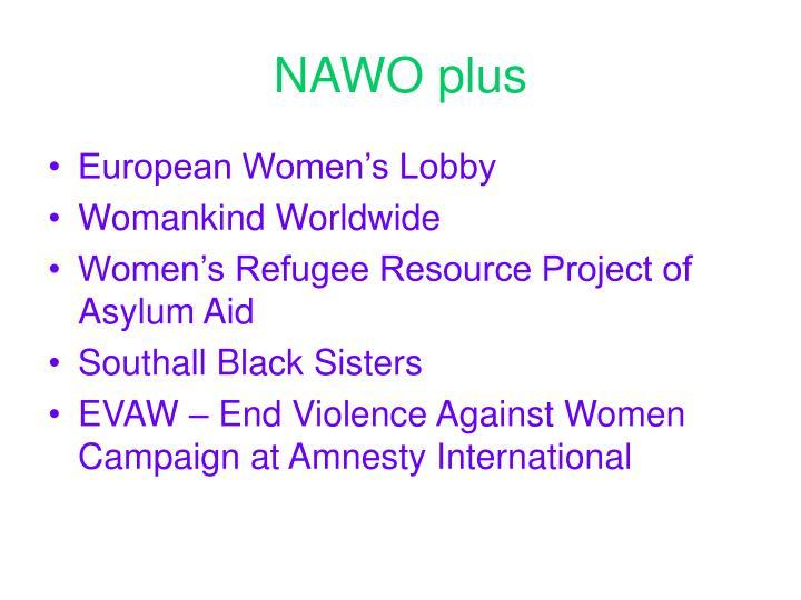 NAWO plus