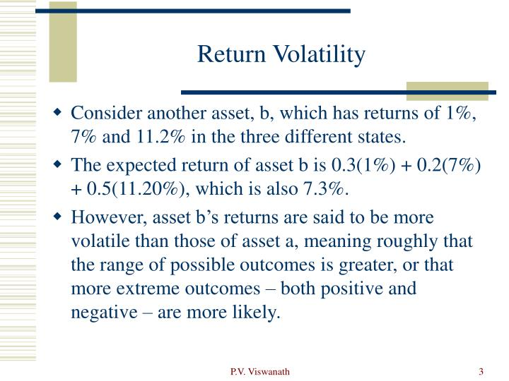 Return Volatility