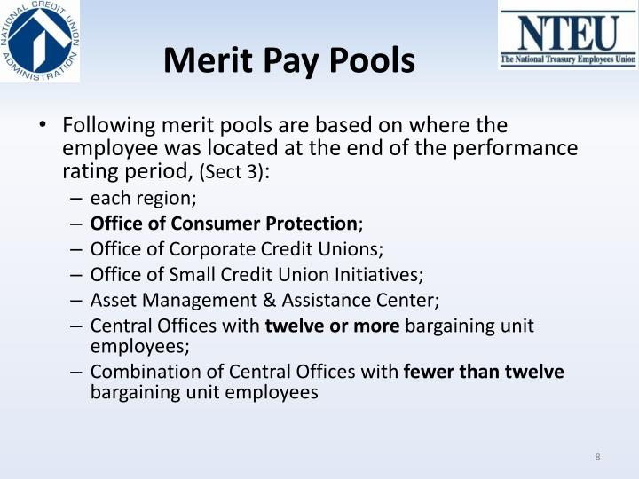 Merit Pay Pools
