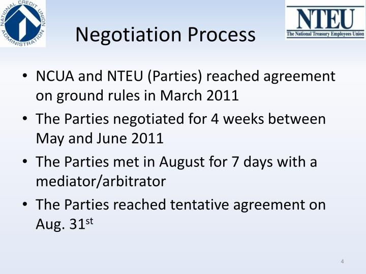 Negotiation Process