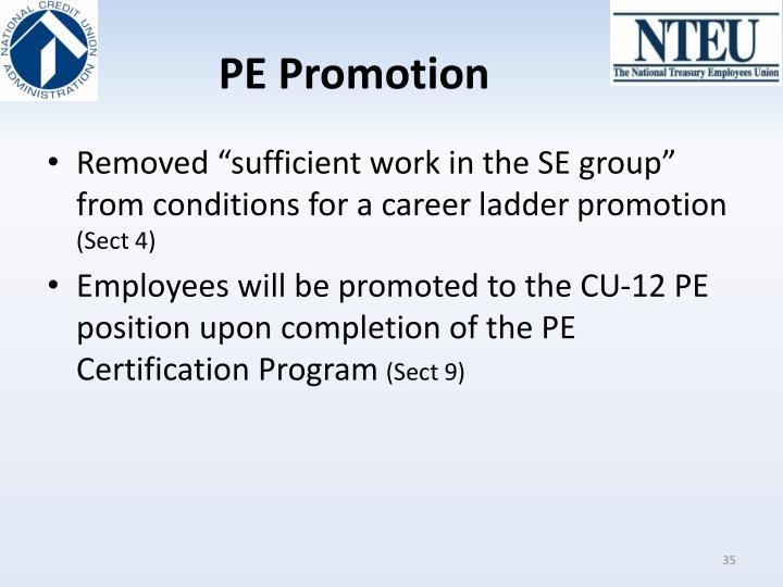 PE Promotion
