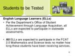 students to be tested2