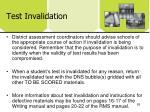 test invalidation1
