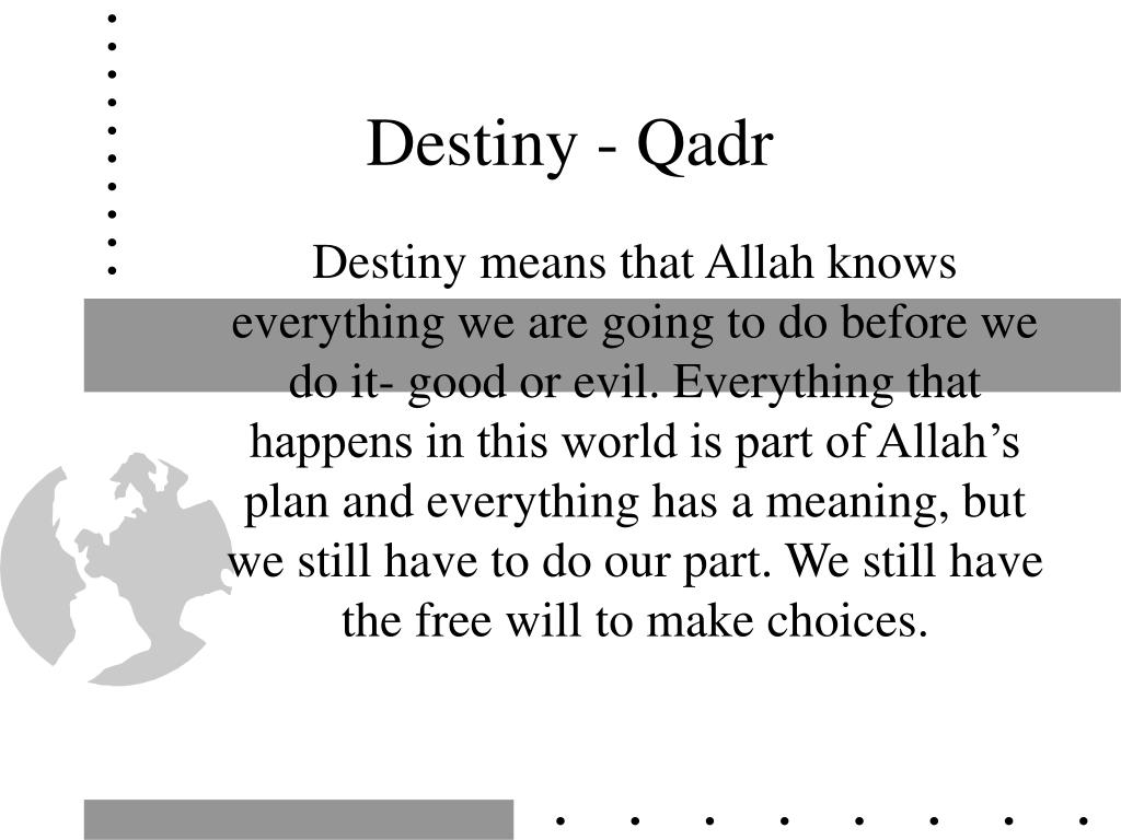 Destiny - Qadr