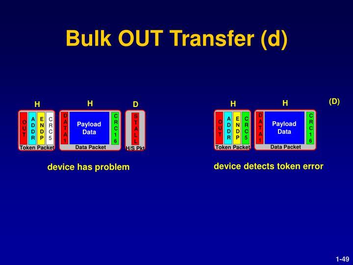 Bulk OUT Transfer (d)