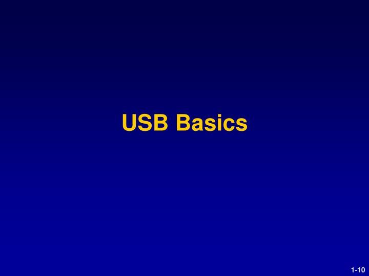 USB Basics