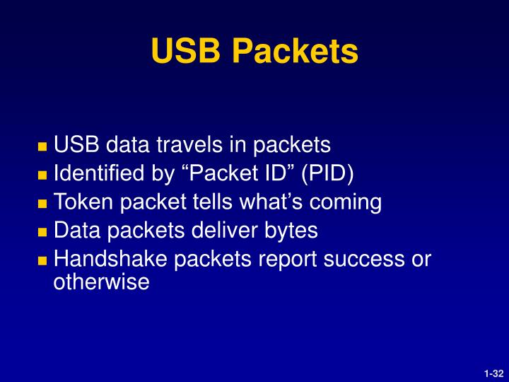 USB Packets