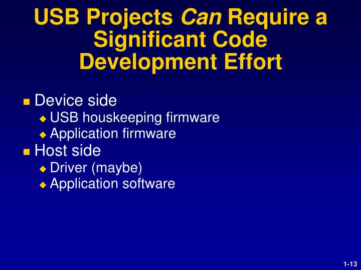 USB Projects