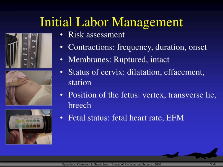 Initial Labor Management