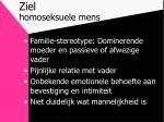 ziel homoseksuele mens
