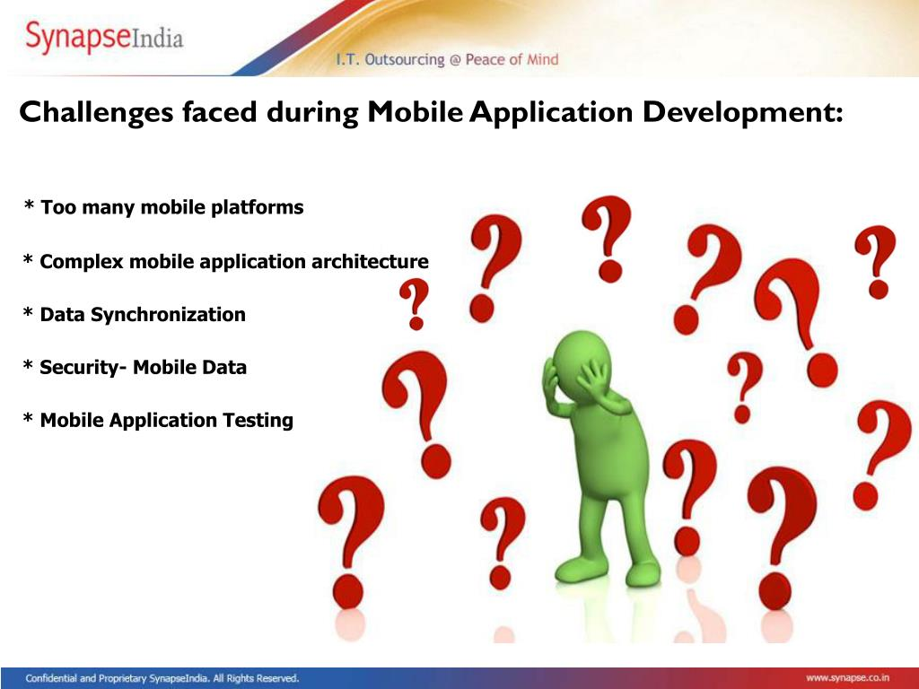 Challenges faced during Mobile Application Development:
