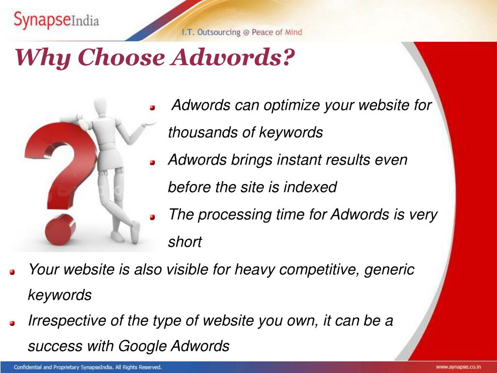 Why Choose Adwords?