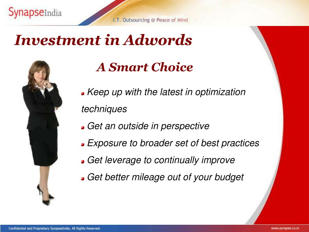 Investment in Adwords