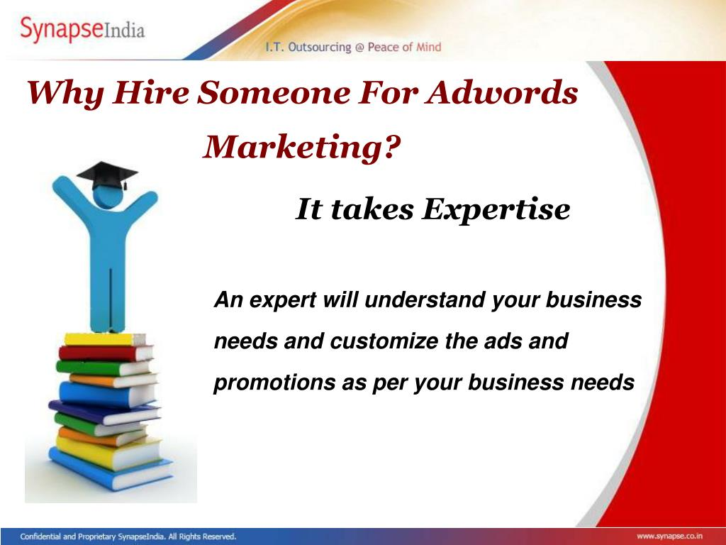 Why Hire Someone For Adwords Marketing?