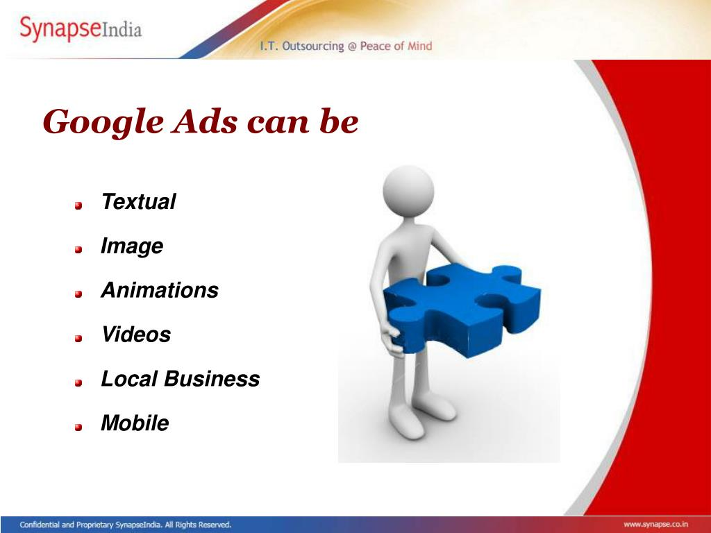 Google Ads can be