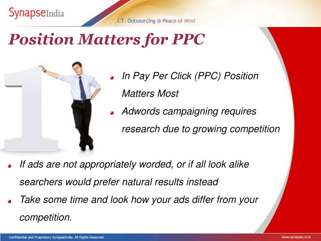 Position Matters for PPC