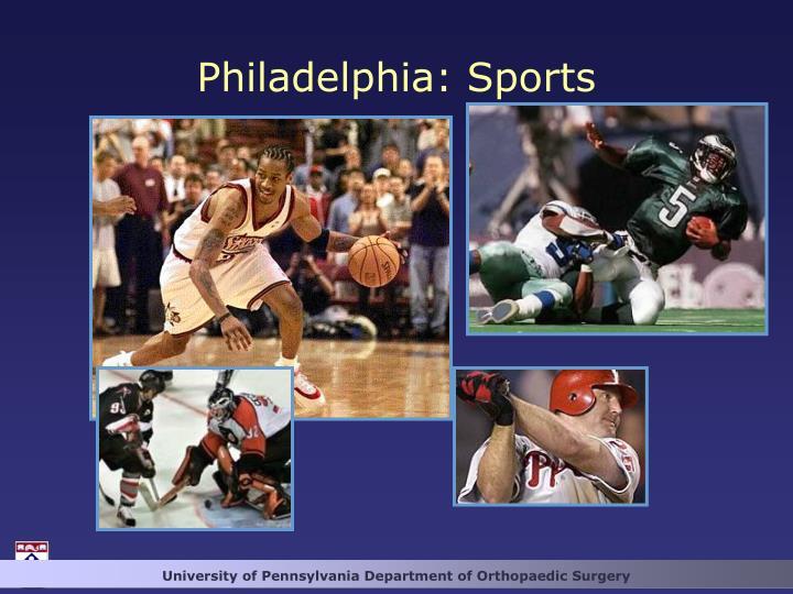 Philadelphia: Sports