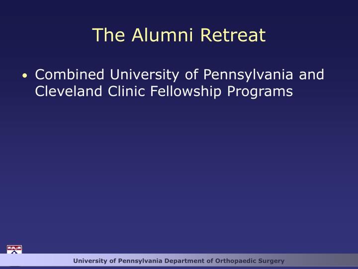 The Alumni Retreat