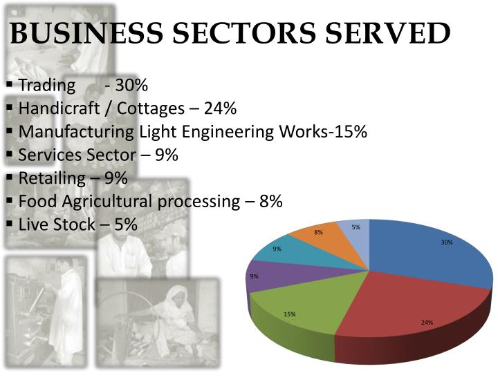 BUSINESS SECTORS SERVED