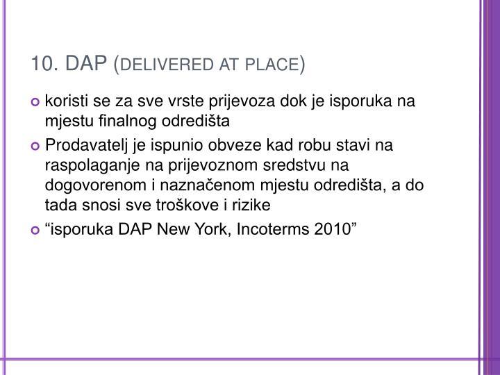 10. DAP (