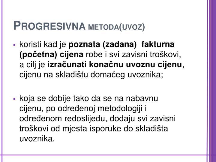 Progresivna