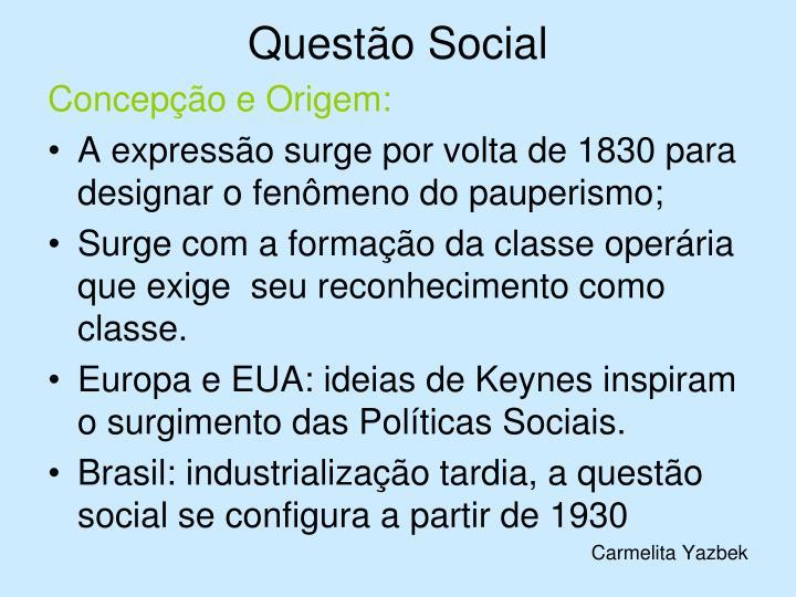 Questão Social