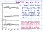rainfall in eastern africa