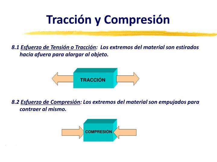 Tracción y Compresión