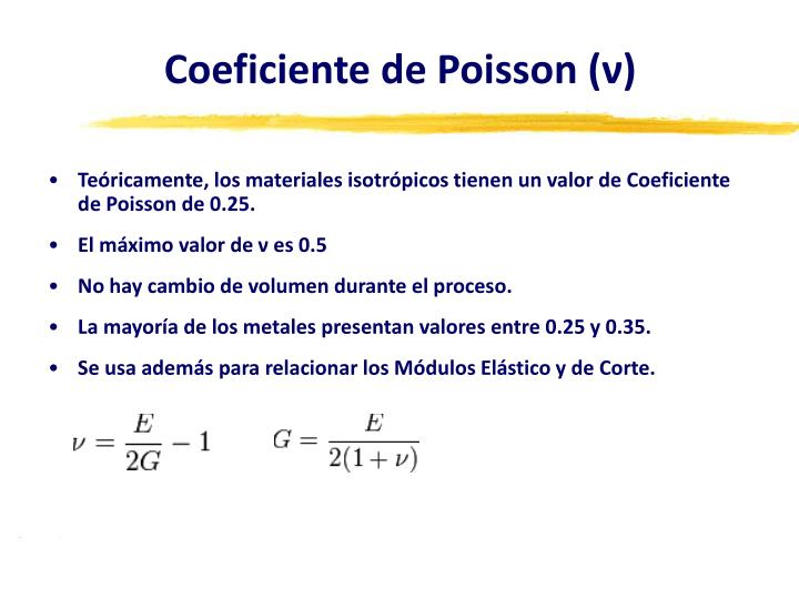 Coeficiente de Poisson (