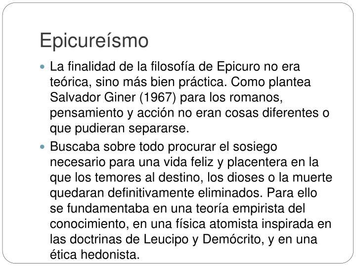 Epicureísmo