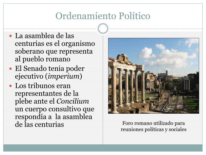 Ordenamiento Político