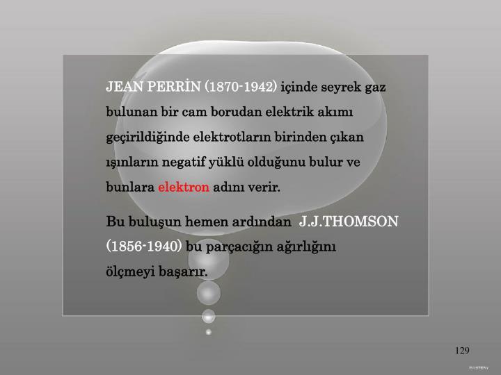 JEAN PERRİN (1870-1942)