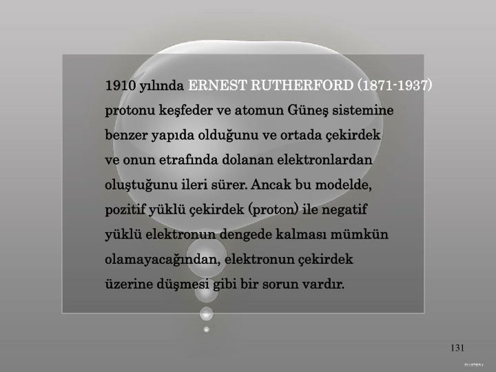 1910 yılında