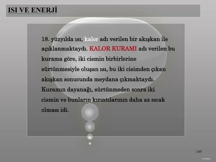 ISI VE ENERJİ