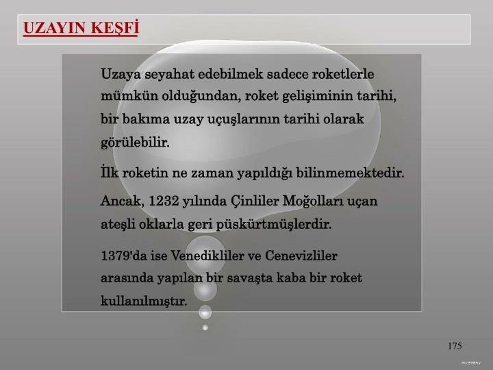 UZAYIN KEŞFİ
