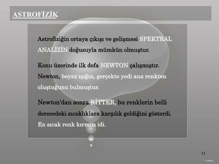 ASTROFİZİK